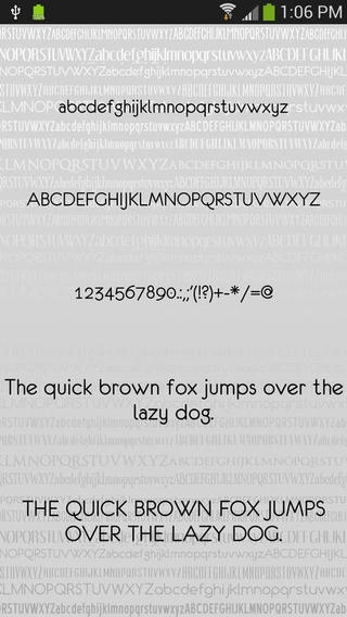 Clean Free Font Theme APK 9 11 0 - download free apk from APKSum