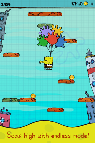 Doodle Jump SpongeBob SquarePants APK 1 02 - download free
