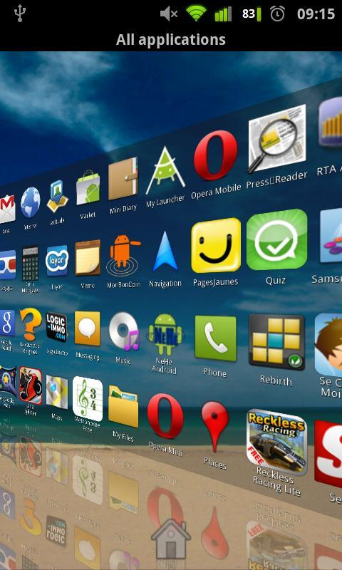 launcher pro apk android