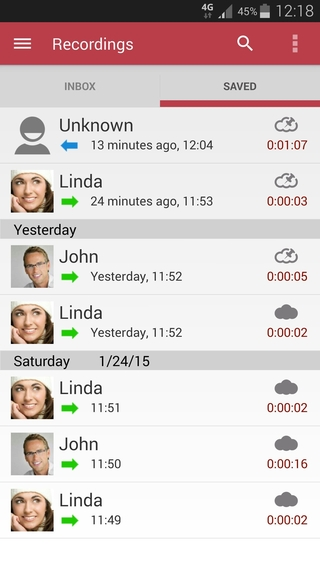 Automatic Call Recorder 5.31 apk screenshot