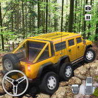 6x6 Mud-Runner Car Tow Truck: Offroad Spin Tires APK