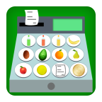 Food Store Cash Register APK