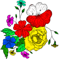 Flowers Color By Number APK