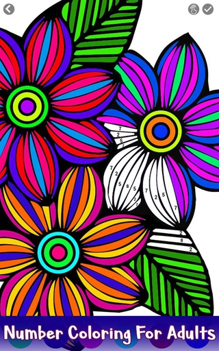 Flowers Color By Number 11 Apk Screenshot