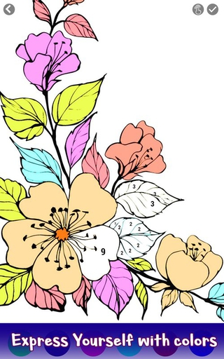 Flowers Color By Number APK 40 download free apk from