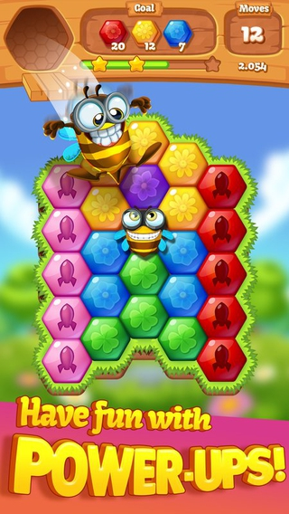 Bee Brilliant Blast 1.2.2 apk screenshot