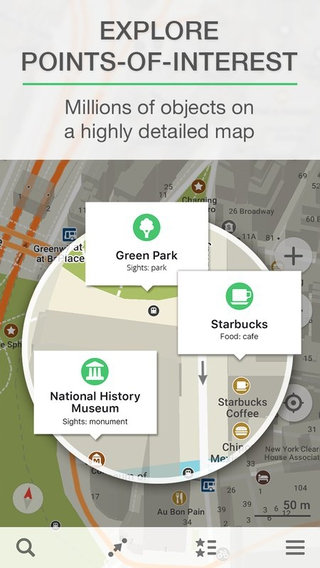 MAPS.ME 6.3.5.google apk screenshot