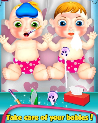 Newborn Baby - Twin Sisters Care 1.0 apk screenshot