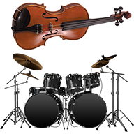 Violin and Drums APK