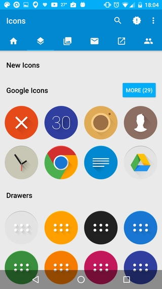 Celandia Icon Pack APK 2 0 preview - download free apk from