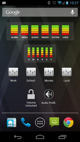 Audio manager android application download.