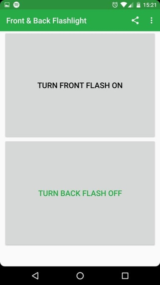 Front & Back Flashlight APK 1 21 - download free apk from APKSum
