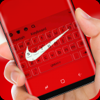Red Nike Keyboard APK