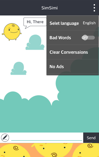 SimSimi 6.8.1.4 apk screenshot