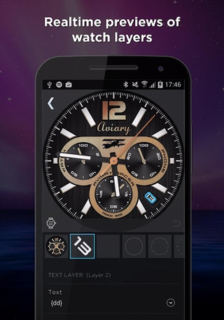 WatchMaker 5.0.0 apk screenshot