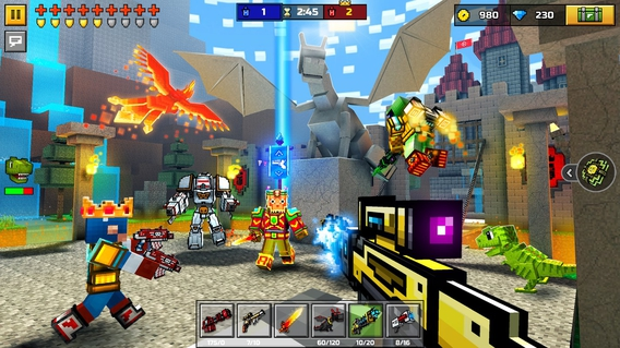 Pixel Gun 3D 14.0.1 apk screenshot