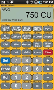 Electricalc pro apk 106 download free apk from apksum electricalc pro 106 apk screenshot keyboard keysfo