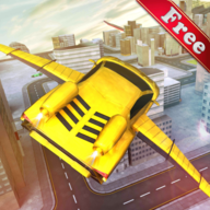 Flying Racing Car Games APK