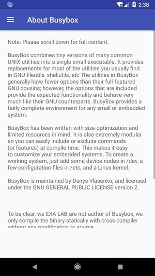 Busybox Installer (no root) APK 1 80 - download free apk from APKSum