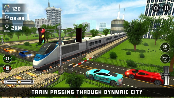 bullet train driving games free download