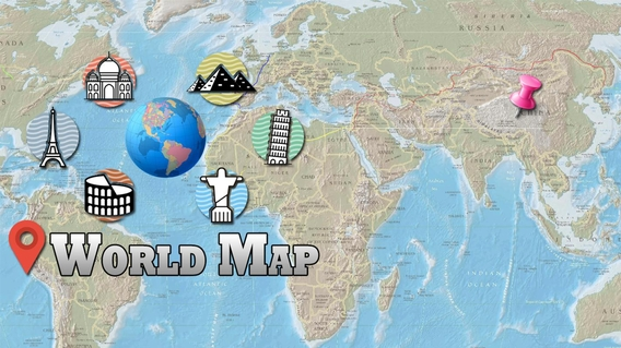 Offline World Map HD - 3D Atlas Street View APK 2 3