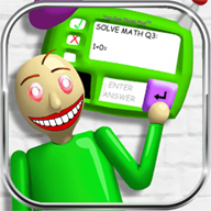 Learn and laugt with BALDl Math Solver learn basics school education APK