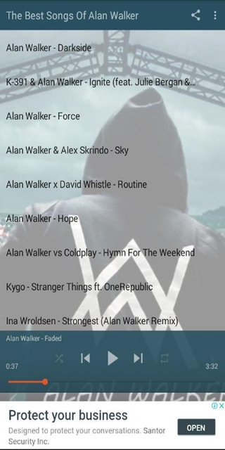 The Best Of Alan Walker APK 3 8 - download free apk from APKSum