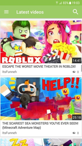 Itsfunneh Video Apk 101 Download Free Apk From Apksum - escape the movie theater roblox