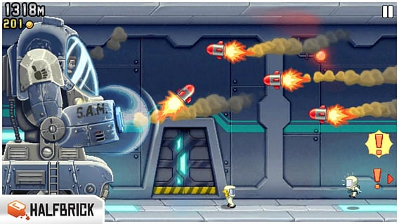 Jetpack Joyride 1.9.9 apk screenshot