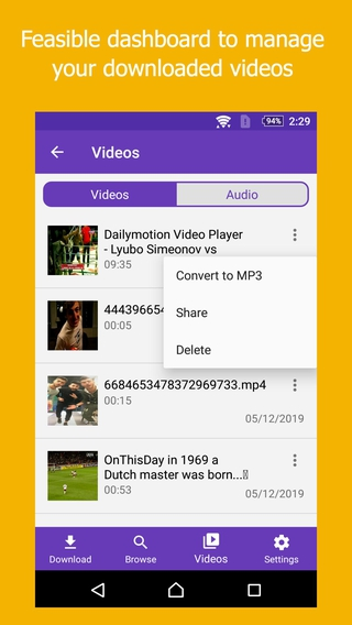 All in One Video Downloader APK 2 4 - download free apk from
