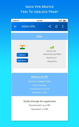 INDIA VPN MASTER - Free To Unblock Proxy APK 2 0 - download free apk