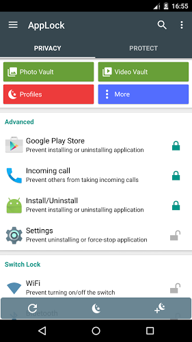app lock google play store