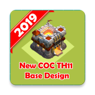 New COC Town Hall 11 Map APK