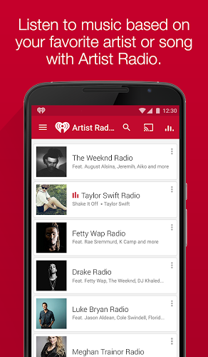 iHeartRadio 7.2.2 apk screenshot