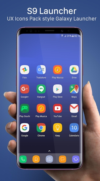 S9 Launcher APK 2 2 - download free apk from APKSum