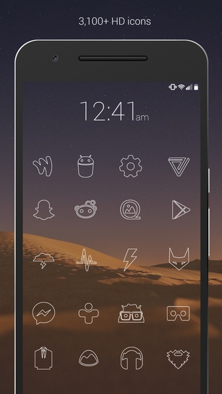 Lines - Icon Pack APK 1 3 9 - download free apk from APKSum