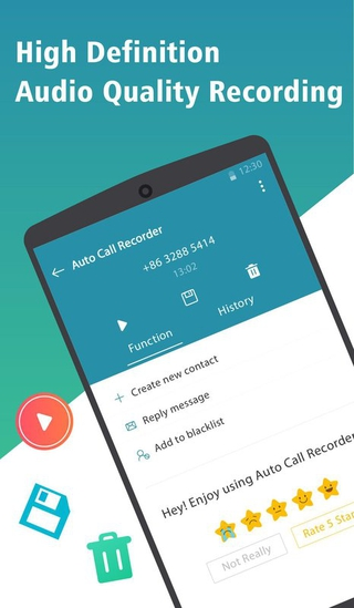 Auto Call Recorder APK 1 0 4 - download free apk from APKSum