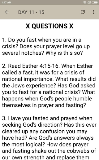 Fasting and Prayer APK 2 2 - download free apk from APKSum
