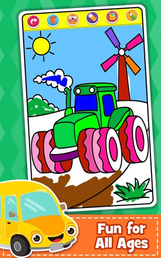 Learn Coloring & Drawing Car Games for Kids - Apps on Google Play | 512x320