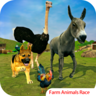 Farm Animals Racing Simulator APK
