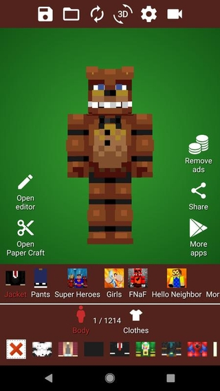 Wardrobe for Minecraft APK 1 0 30 - download free apk from