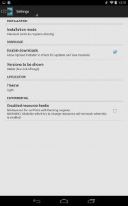 3.1.1 INSTALLER TÉLÉCHARGER XPOSED