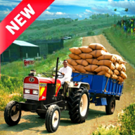 Heavy Tractor Trolley Cargo Simulation Game APK