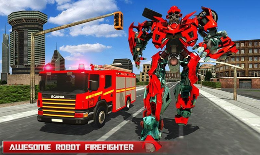 Robot Fire Fighter APK 70 - download free apk from APKSum