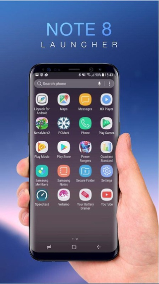 Note 8 Launcher APK 1 0 - download free apk from APKSum