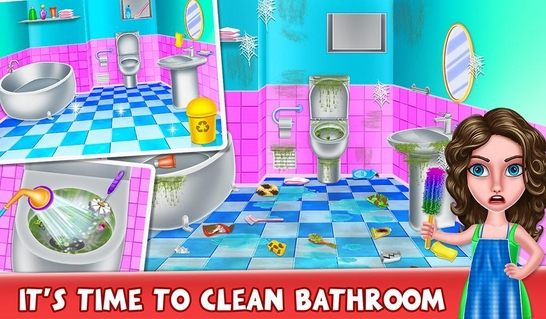 cleaning apk download games