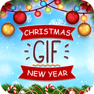 New Year and Christmas GIF APK