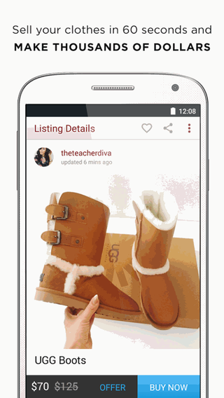 ... Poshmark 2.98.02 apk screenshot ...