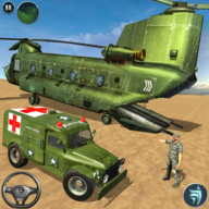 US Army Transport Ambulance Driving Rescue Game APK