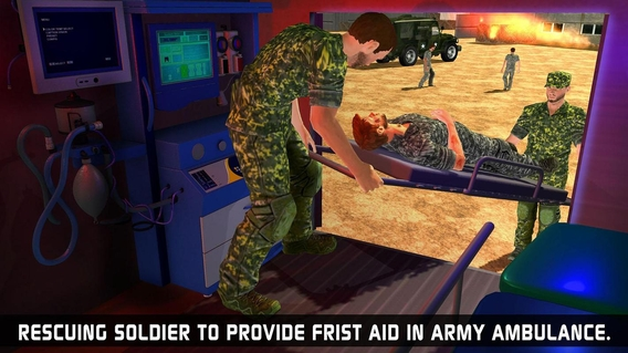 army rescue game